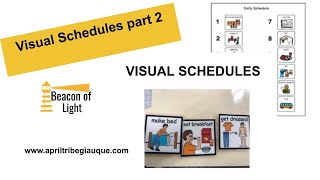 Teach me How to Use a Visual Schedule!