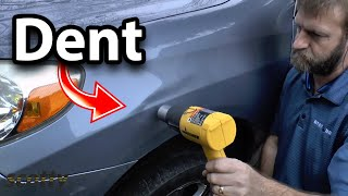 How to Remove Car Dent Without Having to Repaint - DIY | Car Repair