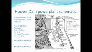 Hoover Dam- Force and Power Analysis