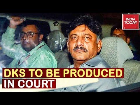 DK Shivakumar Arrest : 9-Day ED Custody Ends, DKS To Be Produced In Court