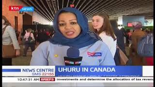 President Uhuru attends women's conference in Canada