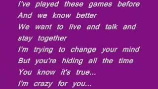 Letting You Down- Jonas Brothers. Lyrics