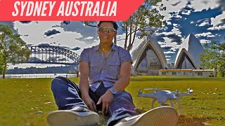 DJI Phantom 1 Drone and Surfing Adventure in Sydney Australia