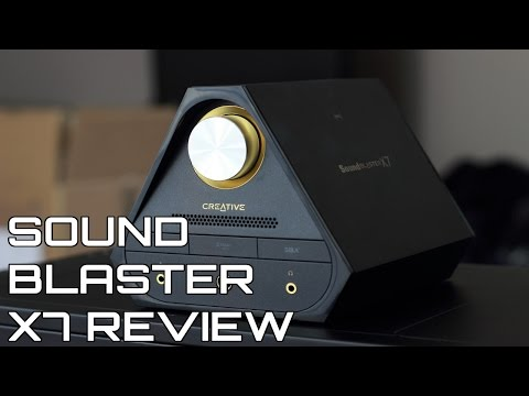 Creative Sound Blaster X7 Review Mp3