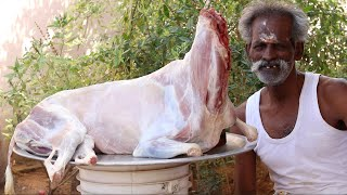 MUST WATCH !!! Sinthamani MUTTON Curry Prepared by my Daddy ARUMUGAM / Village food factory