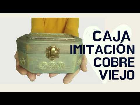 Caja Imitación Cobre Viejo (U Oxidado) ️►Aprende Técnicas De Pintura Acrílica 7