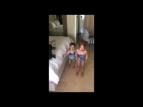 Genius Dad Ends His Daughters' Tantrums By Telling Them They Have To Take Turns Crying