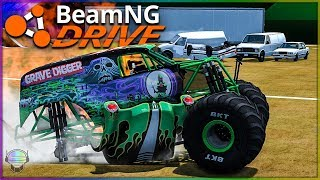ABSOLUTE CARNAGE!   BeamNG Drive   Monster Trucks