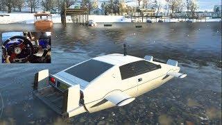 Forza Horizon 4 - WATER CAR!! James Bond Car Pack Customization/Drives ! (Fanatec Wheel) | SLAPTrain