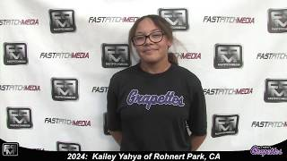2024 Kailey Yahya Speedy Slapper and Outfield Softball Skills Video - Ca Grapettes