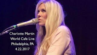 Charlotte Martin World Cafe Live Philadelphia, PA 4-22-2017