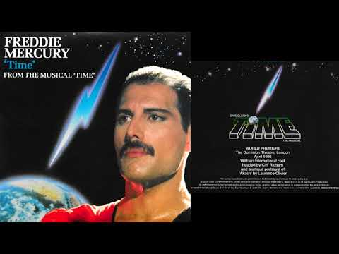 Freddie Mercury - Time (vocals and piano)