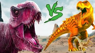 Dinosaurs Vs Dinosaur  Dinosaurs Cartoons For Children  Dinosaurs For Kids  Cartoons Lion Gorilla