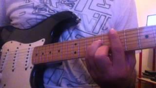 El Arriero - Divididos cover guitarra
