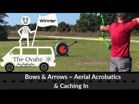 Bows & Arrows ~ Aerial Acrobatics & Caching In @ JB Starkey Wildnerness Park - New Port Richey, FL