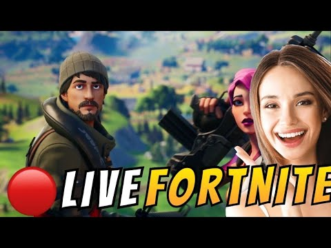 🔴 {FILLE}  top 1 avec moi = surprise (PARTIE PERSO) - LIVE FORTNITE