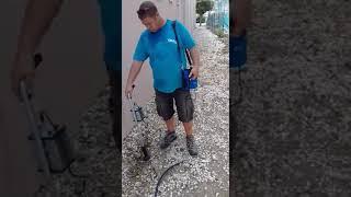 Lekdetectie waterleiding