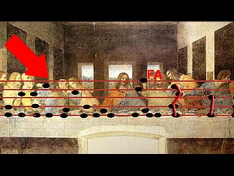 7 SECRET Messages Hidden in Famous Art — Steemit Da Vinci Paintings Secrets