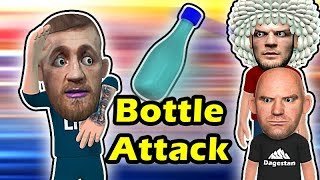 Conor McGregor SURVIVES a BOTTLE Attack in Russia