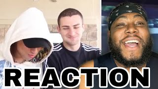 ‪WE TRIED NOT TO LAUGH AT THESE TIKTOKS - LARRAY | REACTION ‬