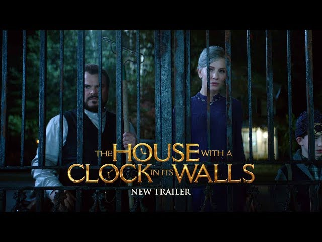 THE HOUSE WITH A CLOCK IN ITS WALLS Trailer