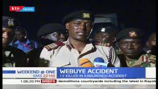 12 killed in Kaburengu accident after tanker hit a 14 passenger matatu