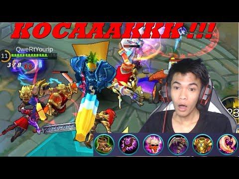 Video New Hero Gatot Kaca - New Map Summer Party - Mobile Legends #42