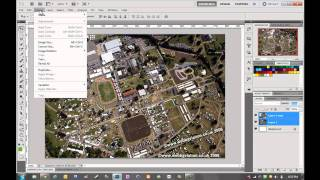 Aligning Aerial Photography in Photoshop