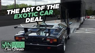 How to be an exotic car broker