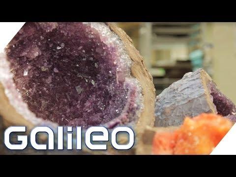 Essbare Bergkristalle: So entstehen die Zucker-Kristallkugeln | Galileo | ProSieben