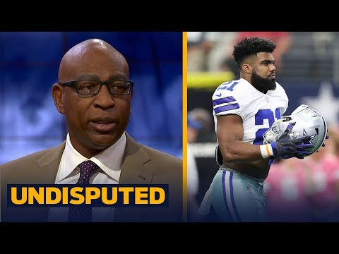 Eric Dickerson with good news (and bad news) for Skip Bayless after Zeke's court ruling | UNDISPUTED