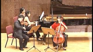 Beethoven Piano Trio Op.1 No.3    2010-12-25    2 mov