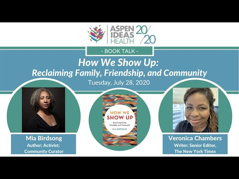 """""""How We Show Up"""" Book Talk with Mia Birdsong"""