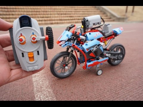 Vidéo LEGO Technic 42036 : La moto urbaine