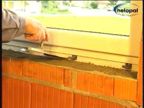 Montagevideo helopal Innenfensterbank mit Mörtelbett