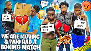 WOO HAD A BOXING MATCH & I GOT KICKED OUT OF MY MANSION💔