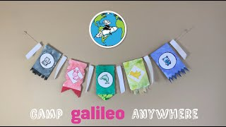 Make Your Own Family Flags - Fun & Collaborative Craft Project For Kids