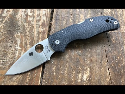 The Spyderco Native 5 Fluted CF/S90V Pocketknife: A Quick Shabazz Review