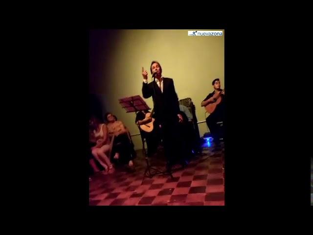 Marito Saavedra y su debut en la noche del tango vialense