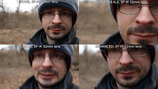 Canon M50 Stabilization Testing | Five EF-M Lens Roundup