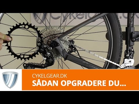 Shimano 1x11 opgraderingsgruppe XT M8000 11-40T title=