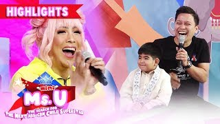 Vice catches Yorme holding a chicken | It's Showtime Mini Miss U