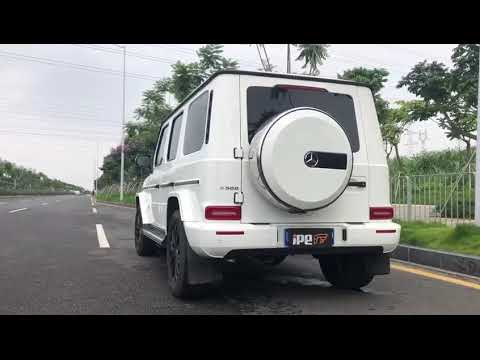 The iPE exhaust for Mercedes-AMG G63 G500 (W464)
