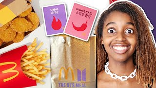 THE BTS MCDONALDS  MEAL - Onyx Family