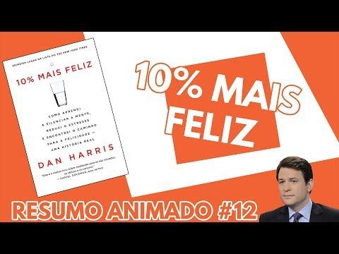 Resumo do Livro 10% Mais Feliz (Dan Harris)