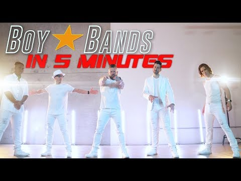 Boy Bands in Five Minutes