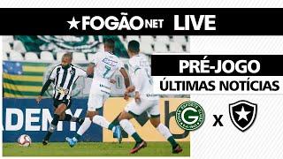 LIVE   Goiás x Botafogo   32ª rodada da Série B-2021   Últimas notícias 📰🔥