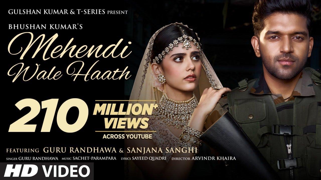 Mehendi Wale Haath in Hindi| Guru Randhawa Lyrics