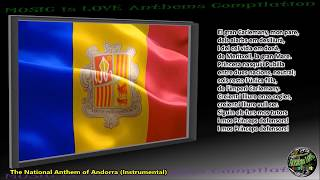 "Andorra National Anthem ""El Gran Carlemany"" INSTRUMENTAL with lyrics"
