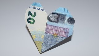 Euro Origami: Heart | 20 Euro | Easy Tutorials And How-to's For Everyone #Urbanskills